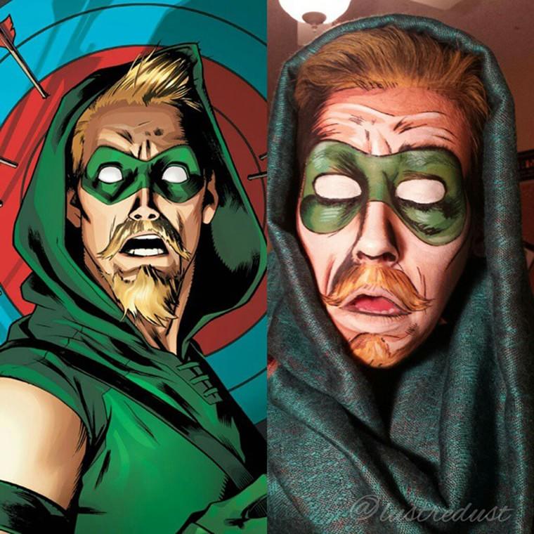 body-painting-green-arrow