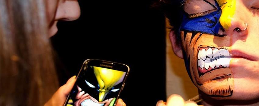 Body painting de super-héros – Lianne Moseley nous étonne !!!