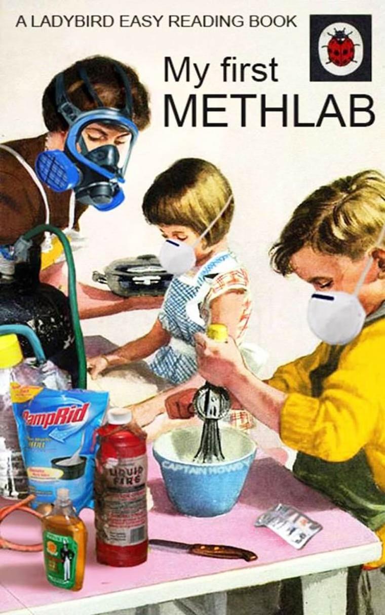 breaking bad laboratoire de meth