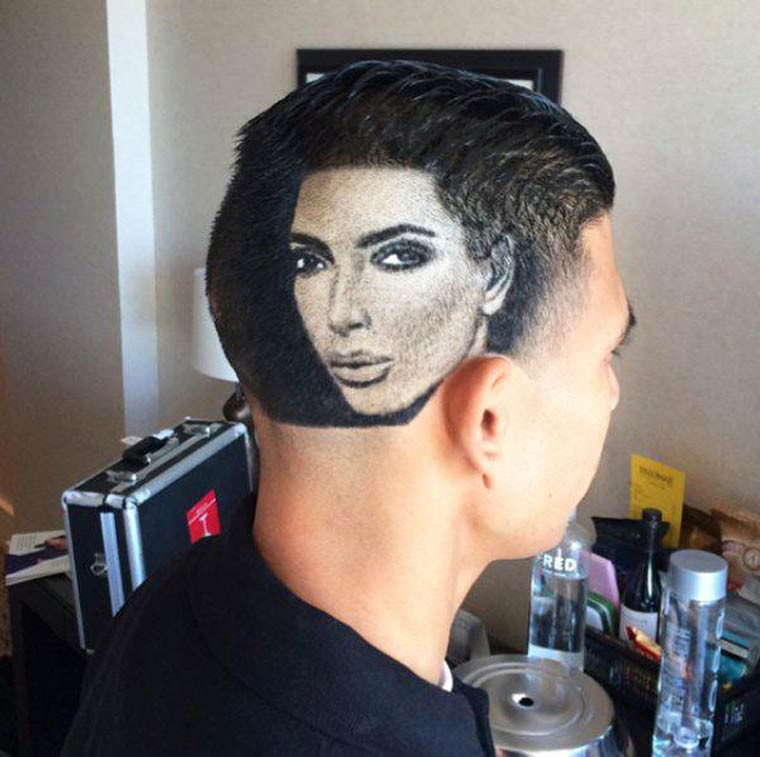 coupe de cheveux kim kardashian
