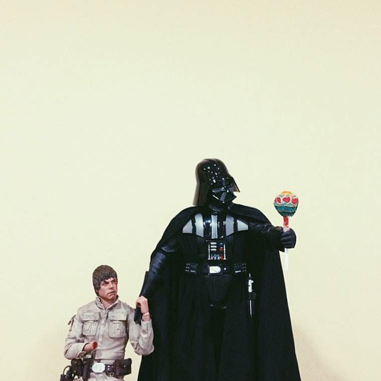 Daniel Cerejo je suis ton pere star wars jouet