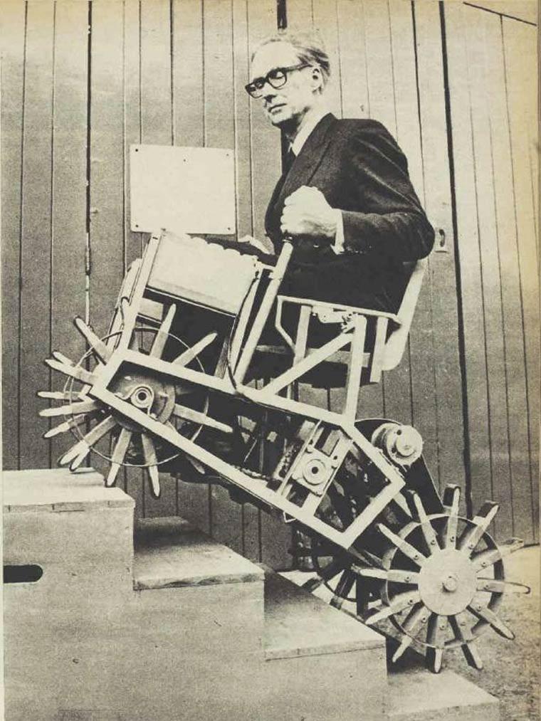 fauteuil handicapee tout terrain 4x4