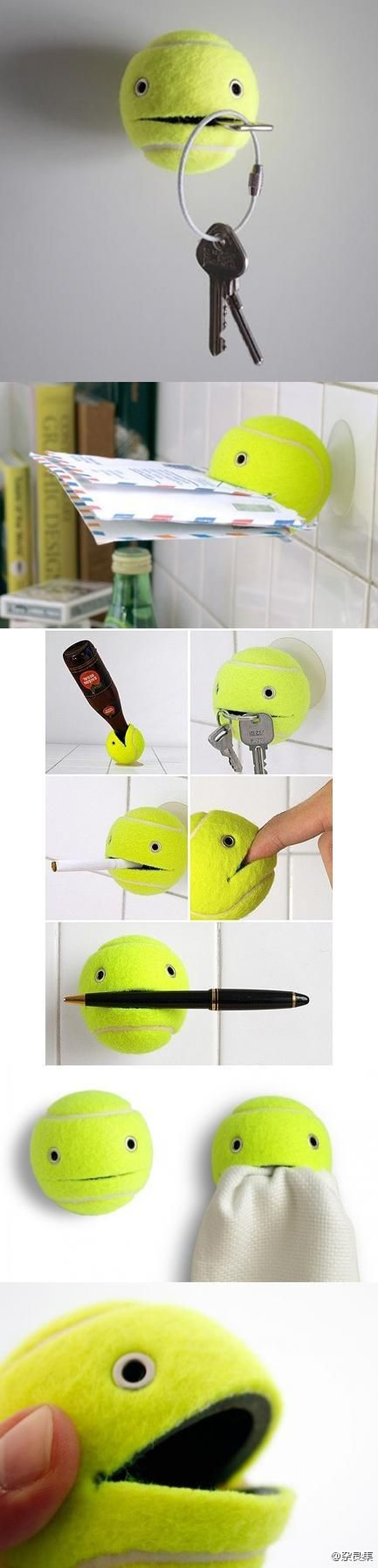gadget balle de tennis