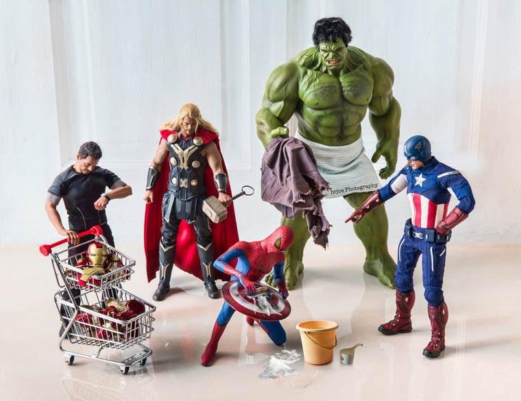 Hrjoe Photography avengers humour spiderman