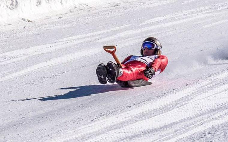 jeux olympique hiver descente luge