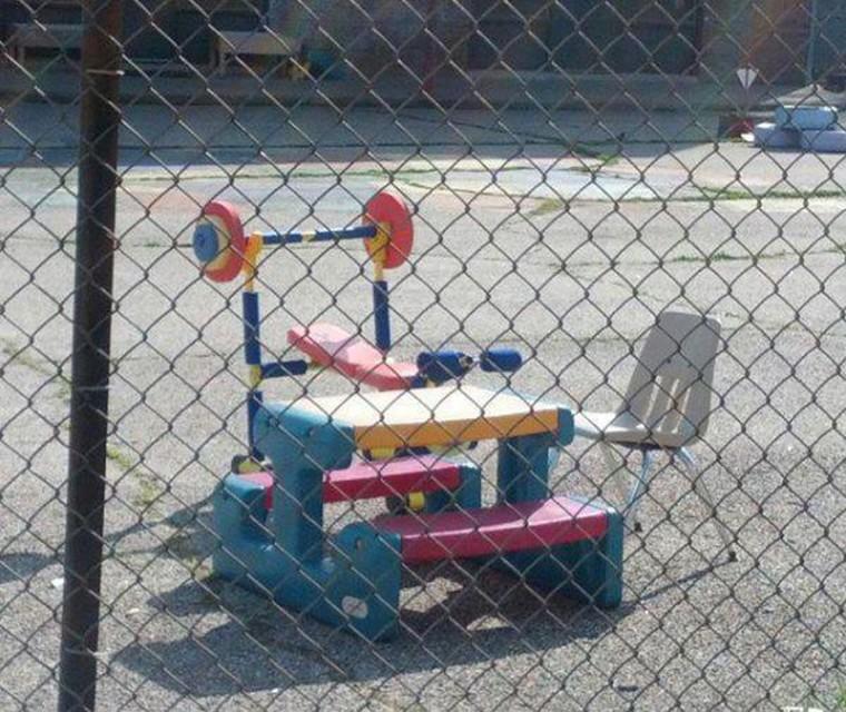 jouet musculation enfant