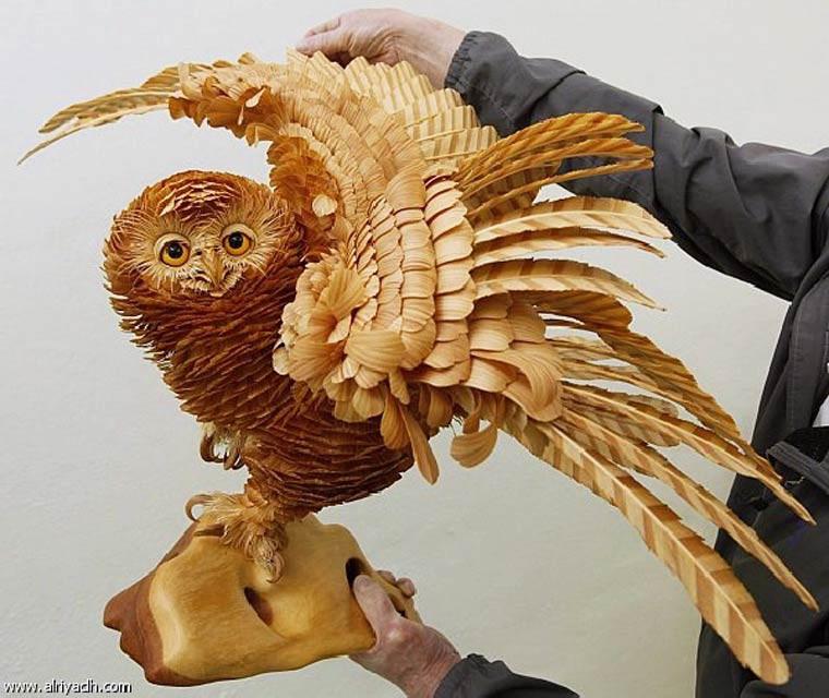 Sergei Bobkov sculture hibou