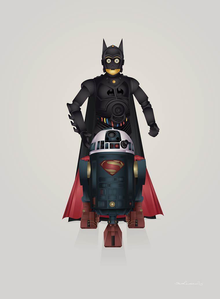 Steve-Berrington-c3-po-batman-r2d2-superman