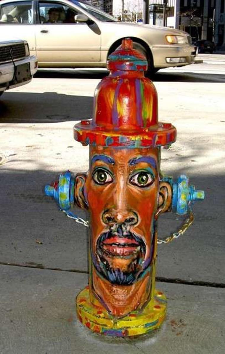 street art borne incendie