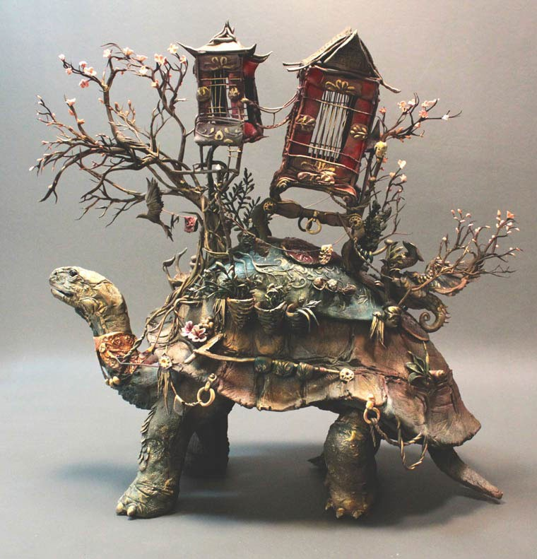 Ellen-Jewett-animal-sculpture-de-tortue