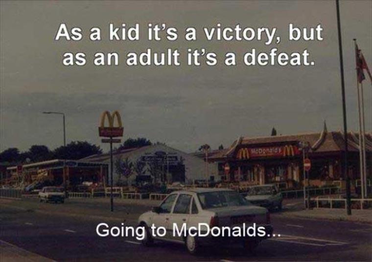 humour mcdonalds enfant et adulte