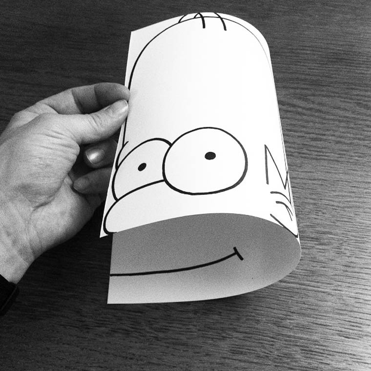 HuskMitNavn illustration homer simpson