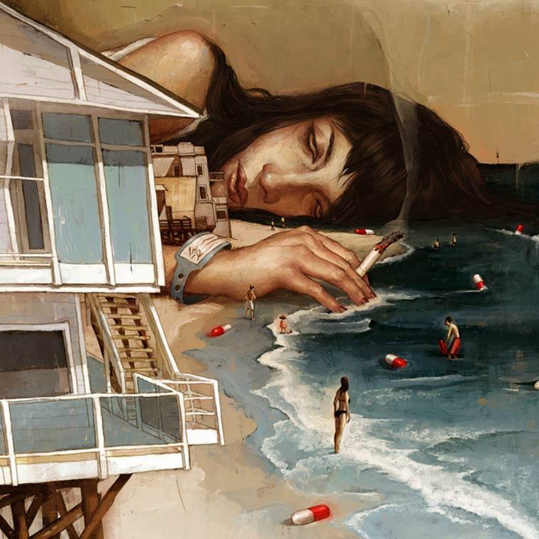 Rory-Kurtz-illustrations-a-la-plage