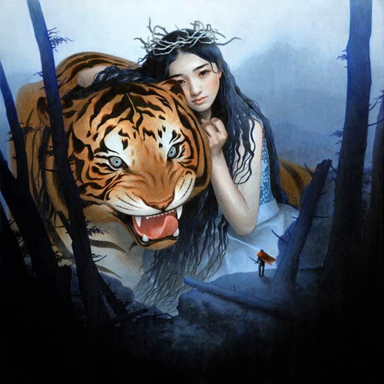 Tran Nguyen le tigre la princesse et le chevalier