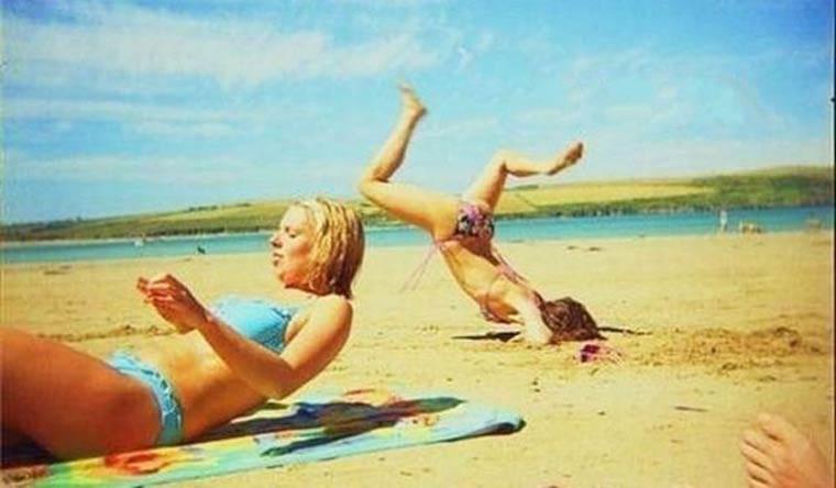 elle se ramasse sur la plage