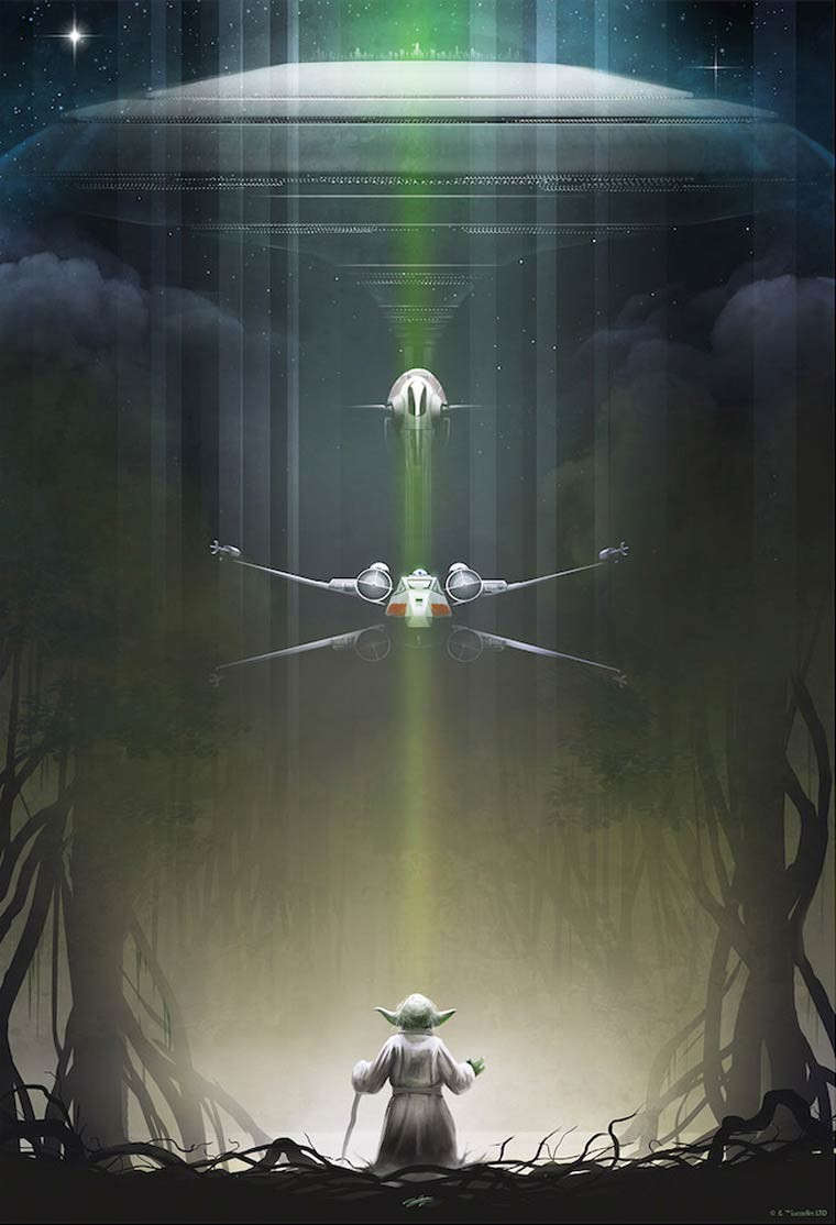 Andy Fairhurst starwars yooda