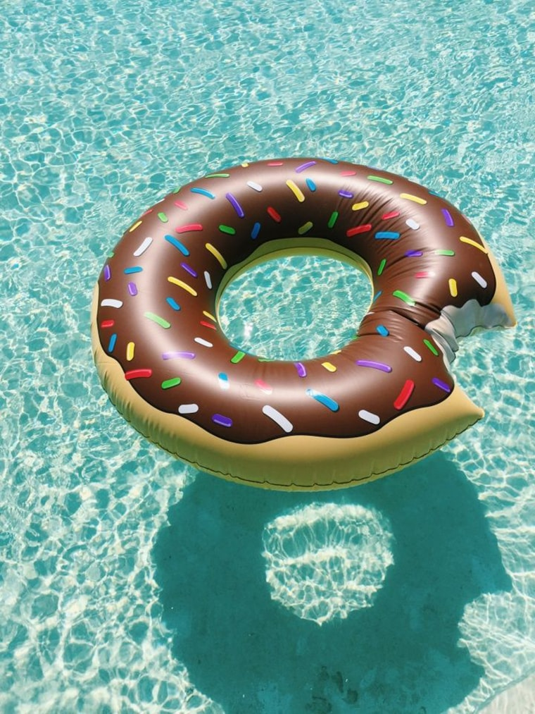boue donut simpson plage