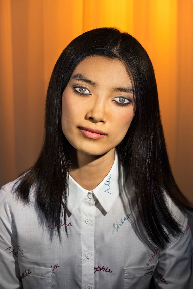how we see laurie simmons maquillage sur paupieres