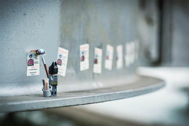 Samsofy Legographie batman recherche robin