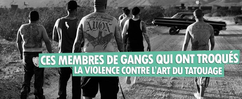 Ces membres de gangs qui ont troqués la violence pour l'art du tatouage