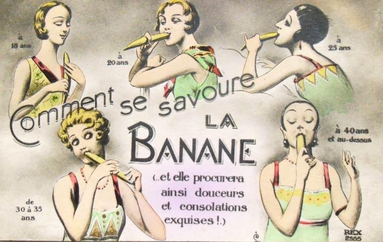 comment se savoure une banane