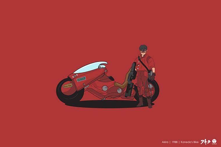 akira la moto de keneda