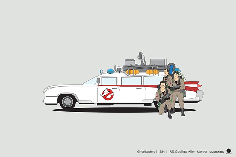 ghostbusters cadillac miller