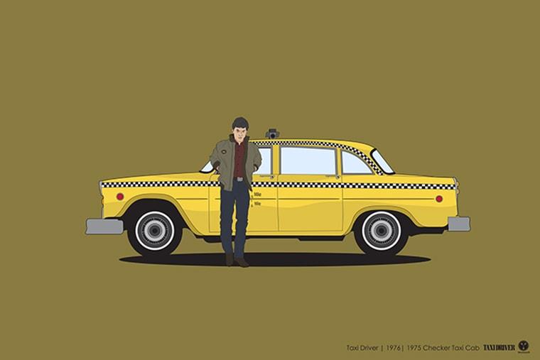 taxi driver checker taxi cab