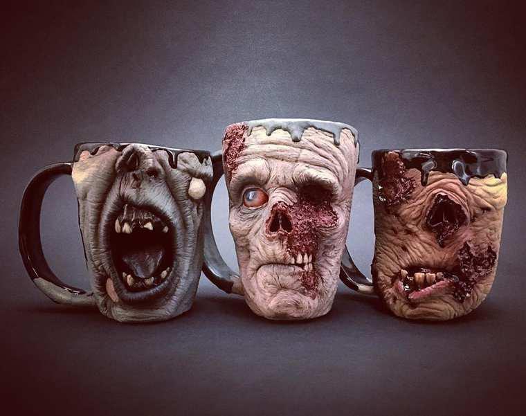 Kevin Turkey Merck walking dead mugs