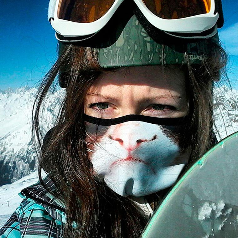 masques-animaux-chat-ski