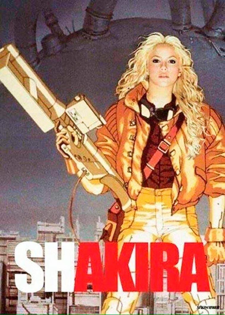 Shakira-manga