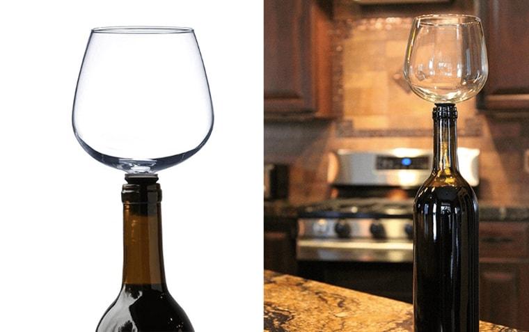 gadget le verre bouteille de fin