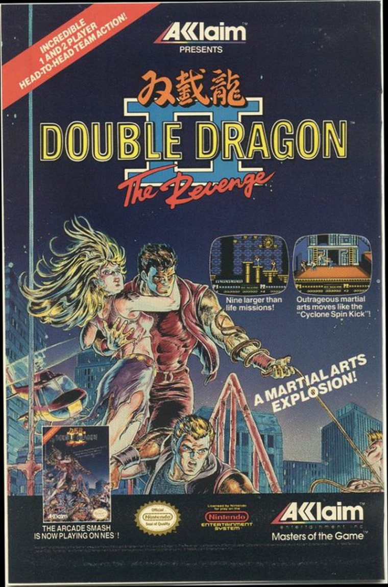 double dragon 2 la revanche nintendo