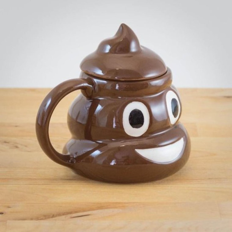 mug emoticone caca
