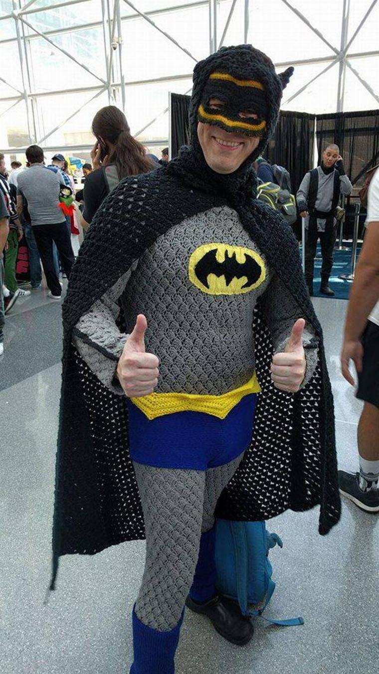 batman en combi pullover