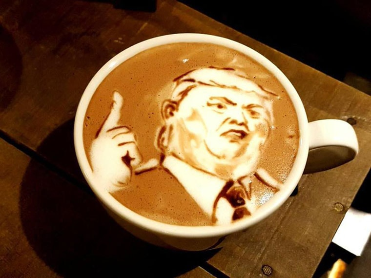 donald trump cafe