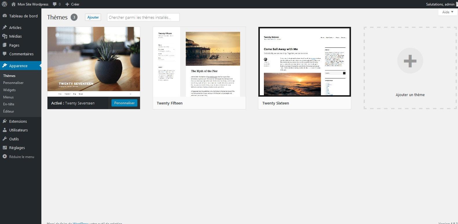 1 decouvrir vos themes wordpress
