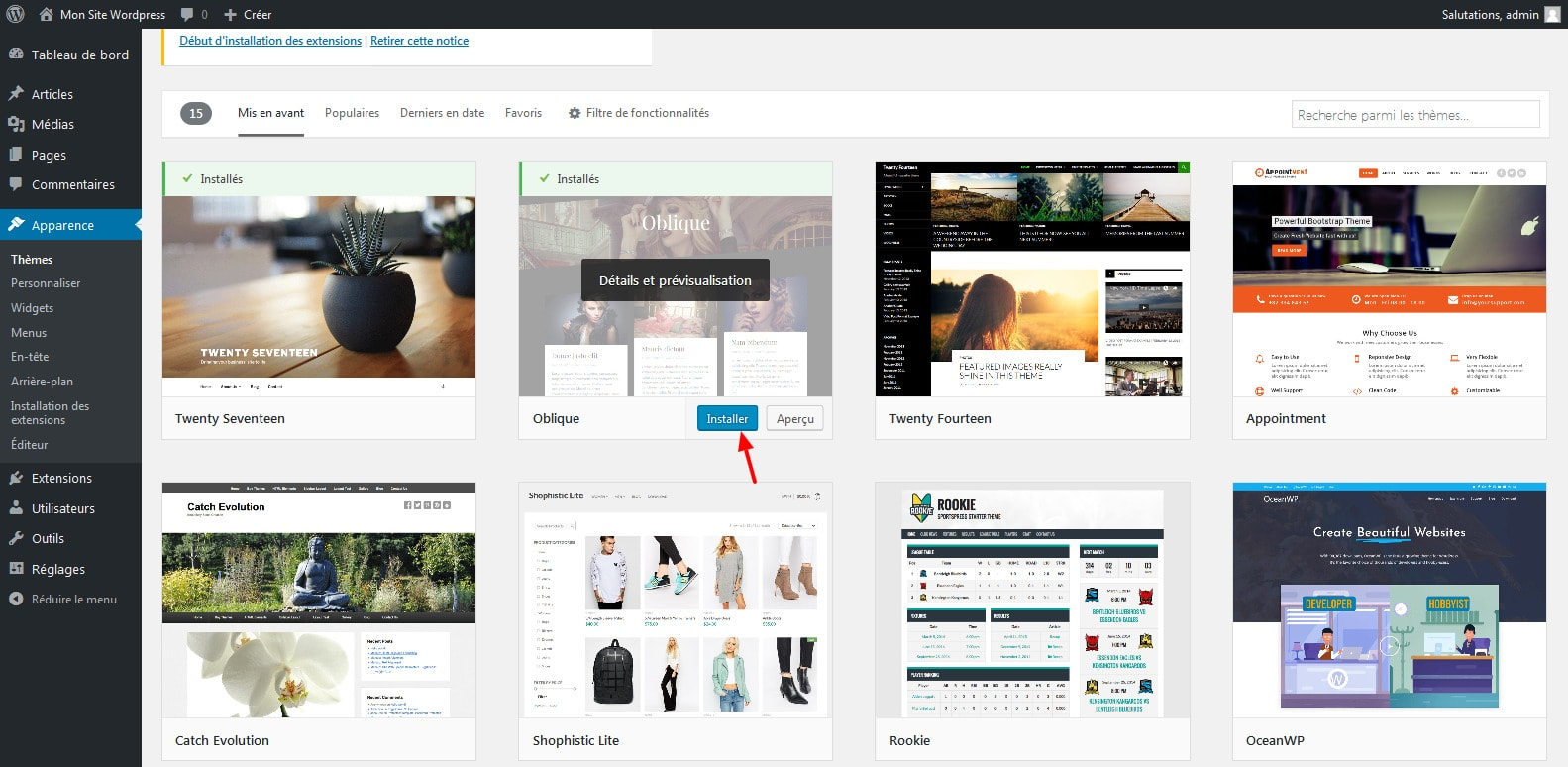 5-installer-le-theme-wordpress