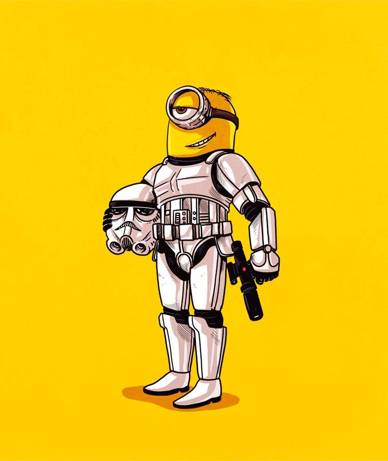 Alex Solis storm trooper