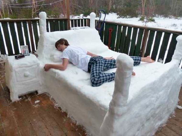 mon lit en ete quand j ai trop chaud