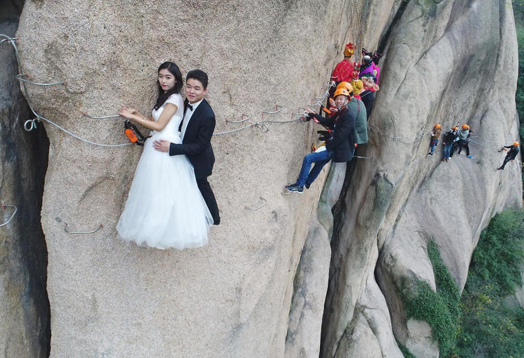 se marier en accro branche