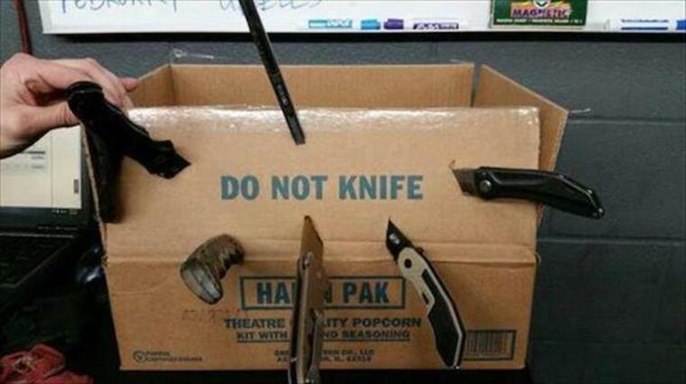 do not knife