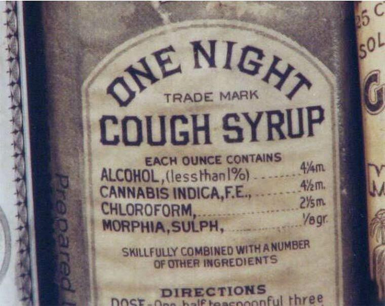 sirop contre la toux au cannabis