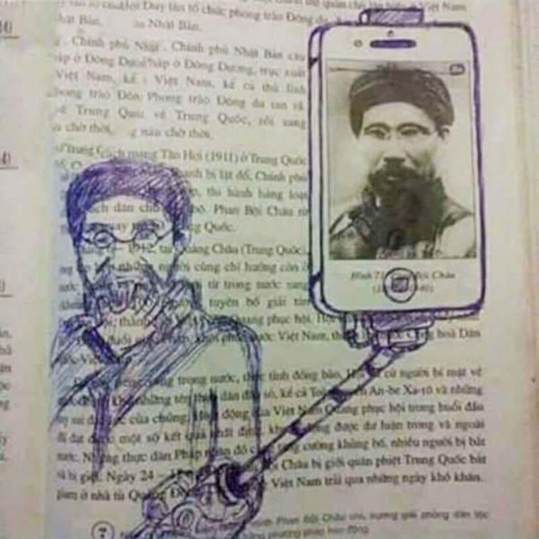 barre de selfie art