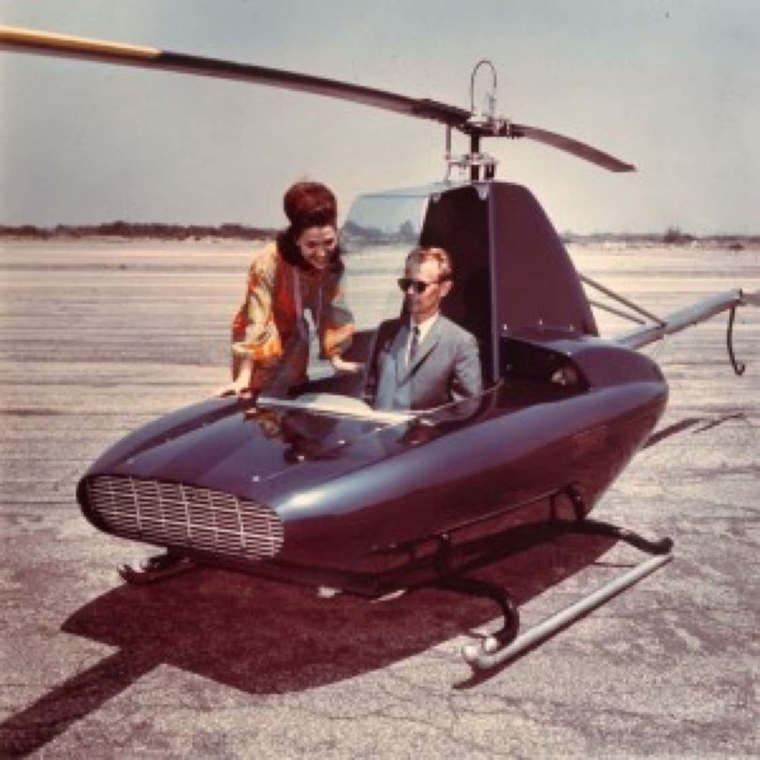 #OldSchool - hélicoptère 1 place