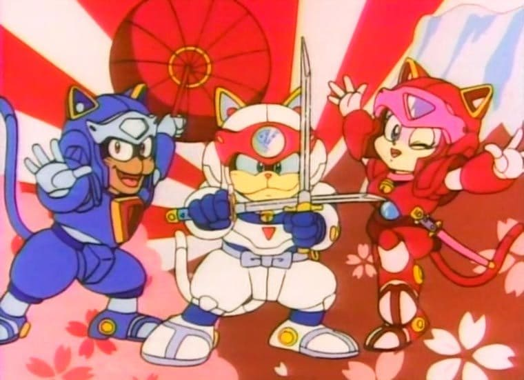 #anime - Samouraï pizza cats