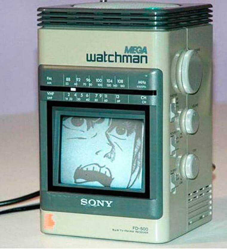 #Oldschool - Mega watchman de Sony