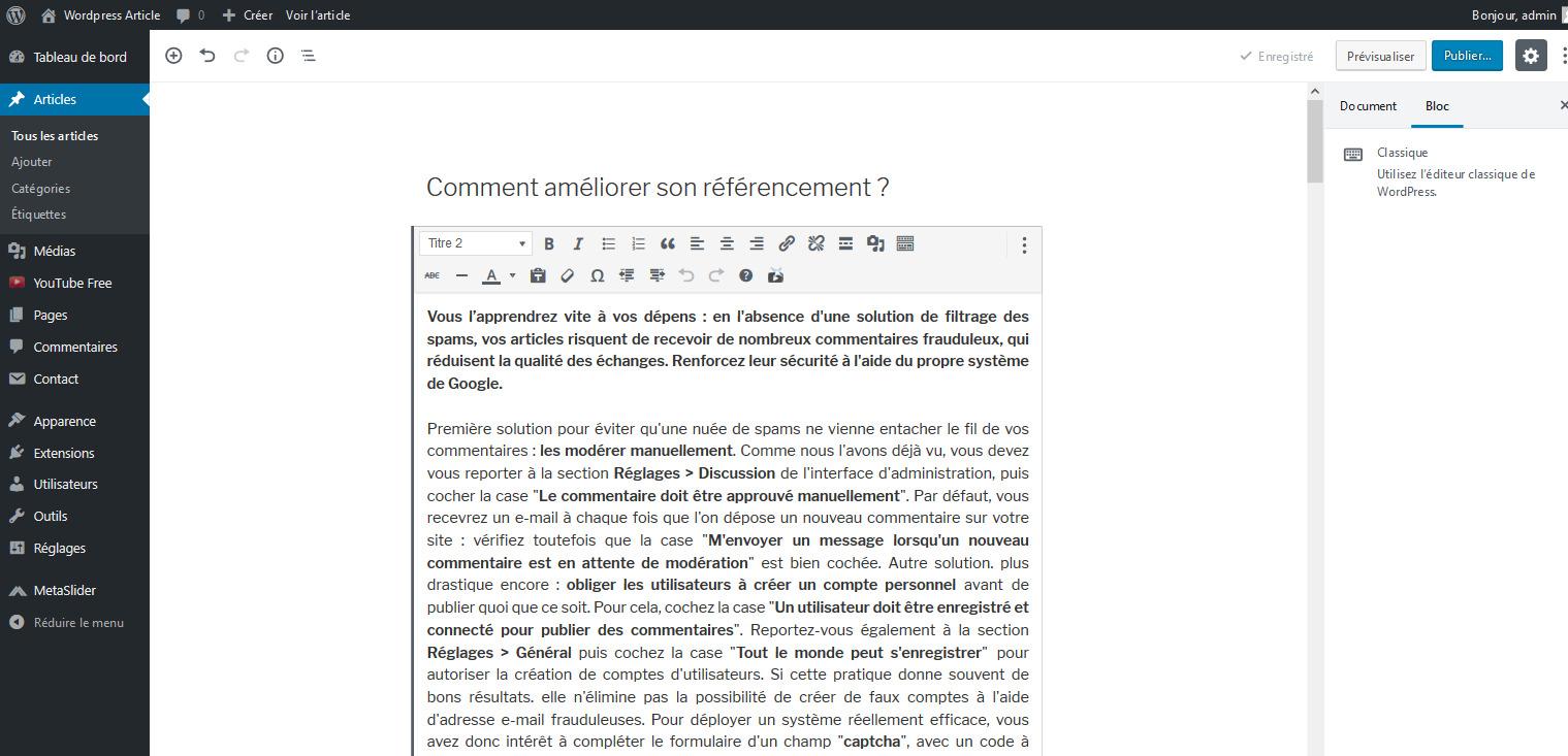 01 soigner contenu referencement wordpress