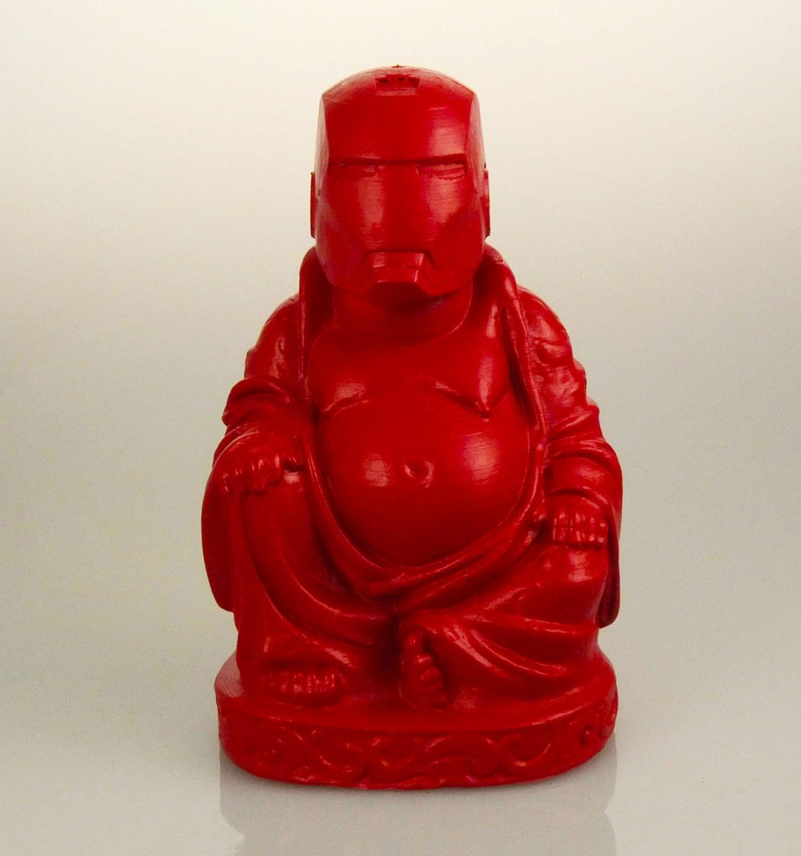 avengers iron man bouddha rouge cramouasi