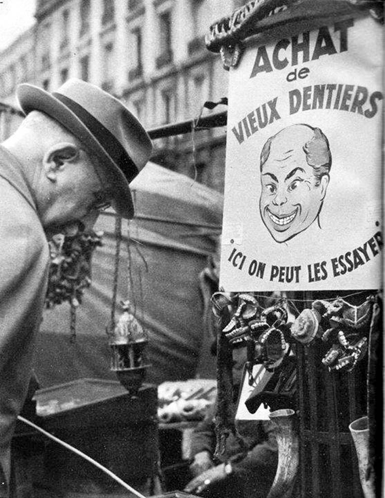 dentiste ambulant achat de vieux dentiers